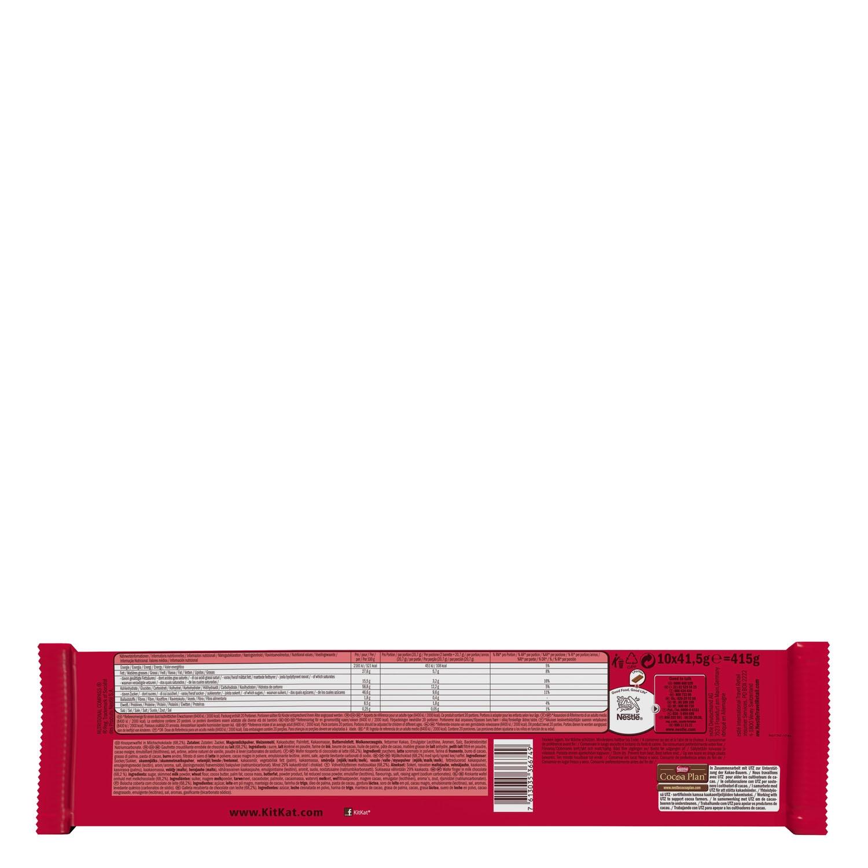 Chocolatina extra Creamy Kit Kat -