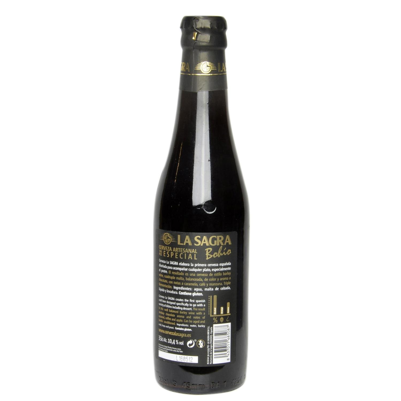 Cerveza artesana La Sagra Bohío Triple Especial botella 33 cl. -