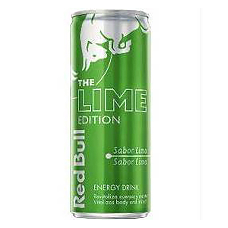 Bebida energética Red Bull The Lime Edition sabor lima 25 cl.