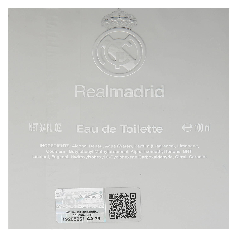 Colonia Real Madrid 100 ml. -