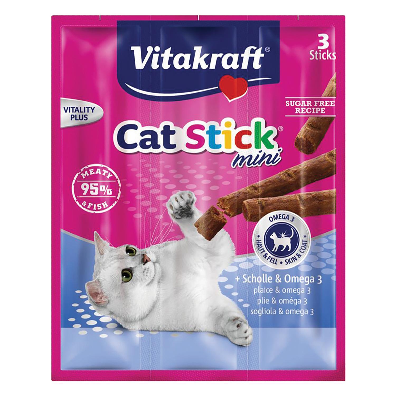 Stick para Gatos Mini Pescado con Omega 3  -