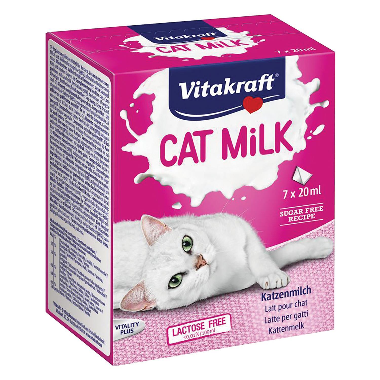 Cat Milk Vitakraft Leche Gatos 7 x 20ml   -