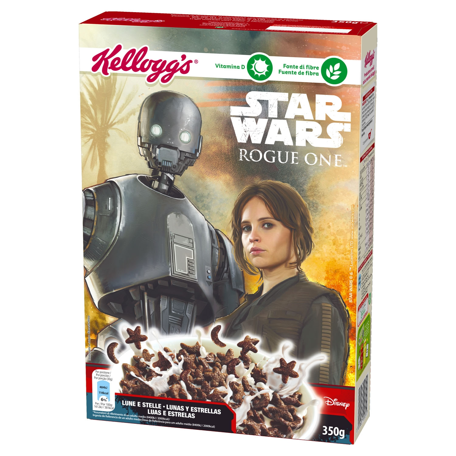 Cereales de chocolate especial Star Wars