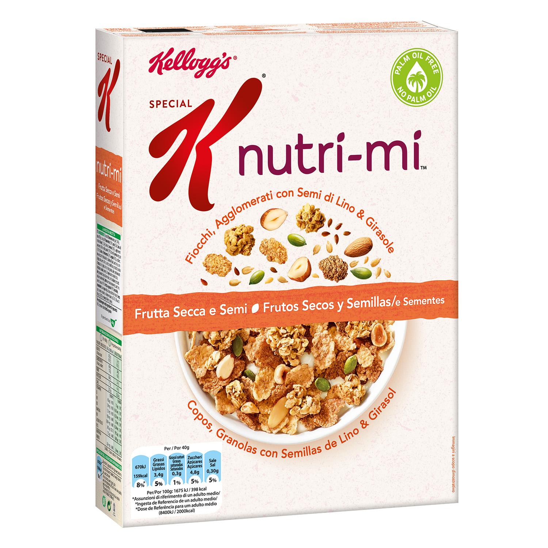 Nutri-mi cereales  con frutos secos y semillas