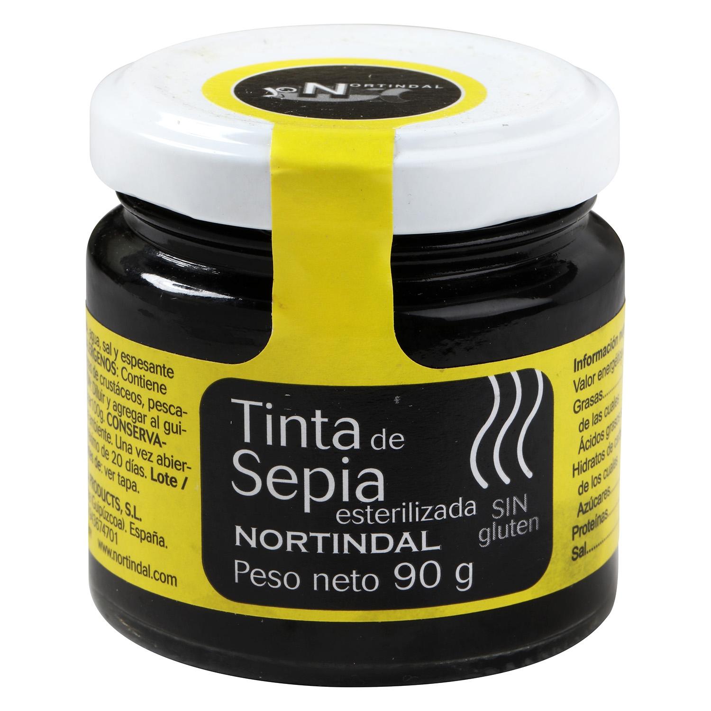 Tinta de calamar o sepia esterilizada Nortindal 90 g - 2