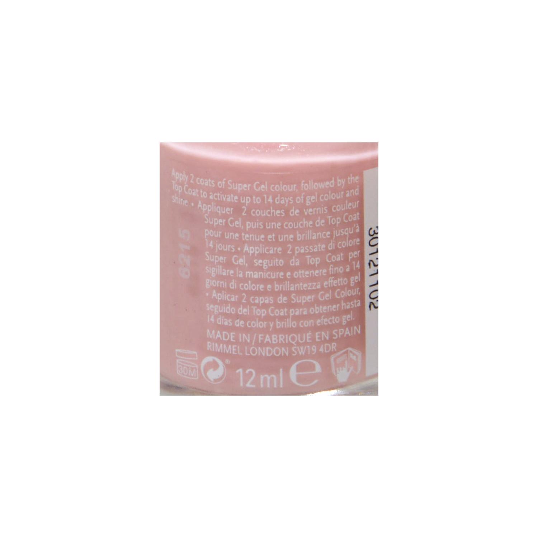 Laca de uñas Super gel by Kate nº 021 New Romantic Rimmel 1 ud. -