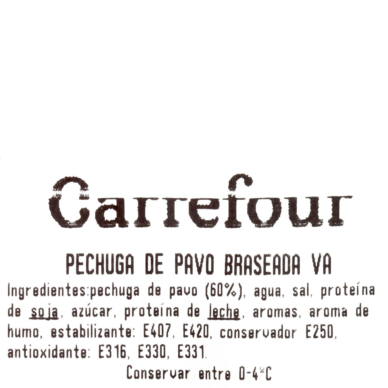 Pechuga de pavo braseada artesana ElPozo al corte 150 g aprox - 3