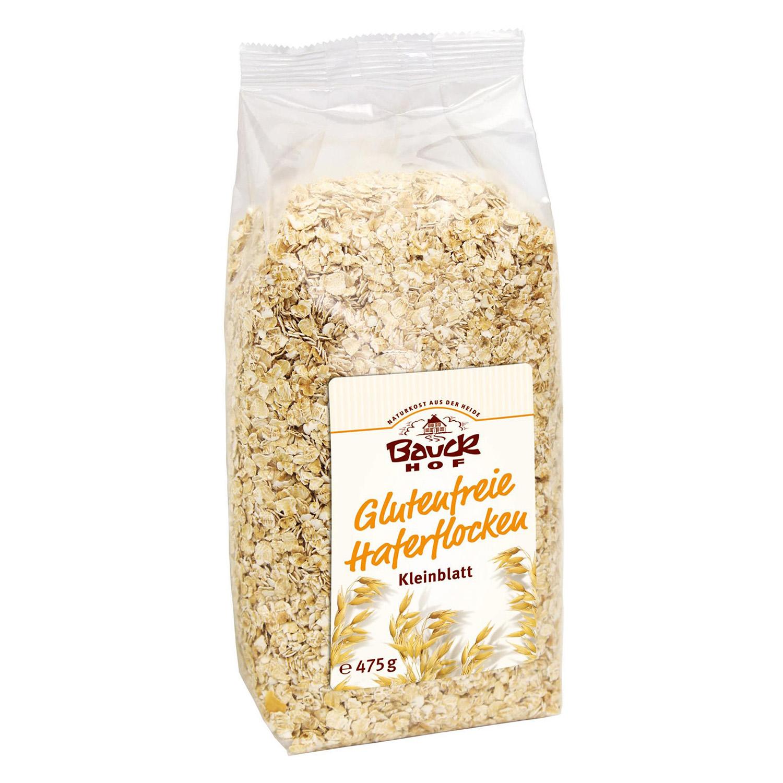 Avena regular Bauck Hof sin gluten 475 g.