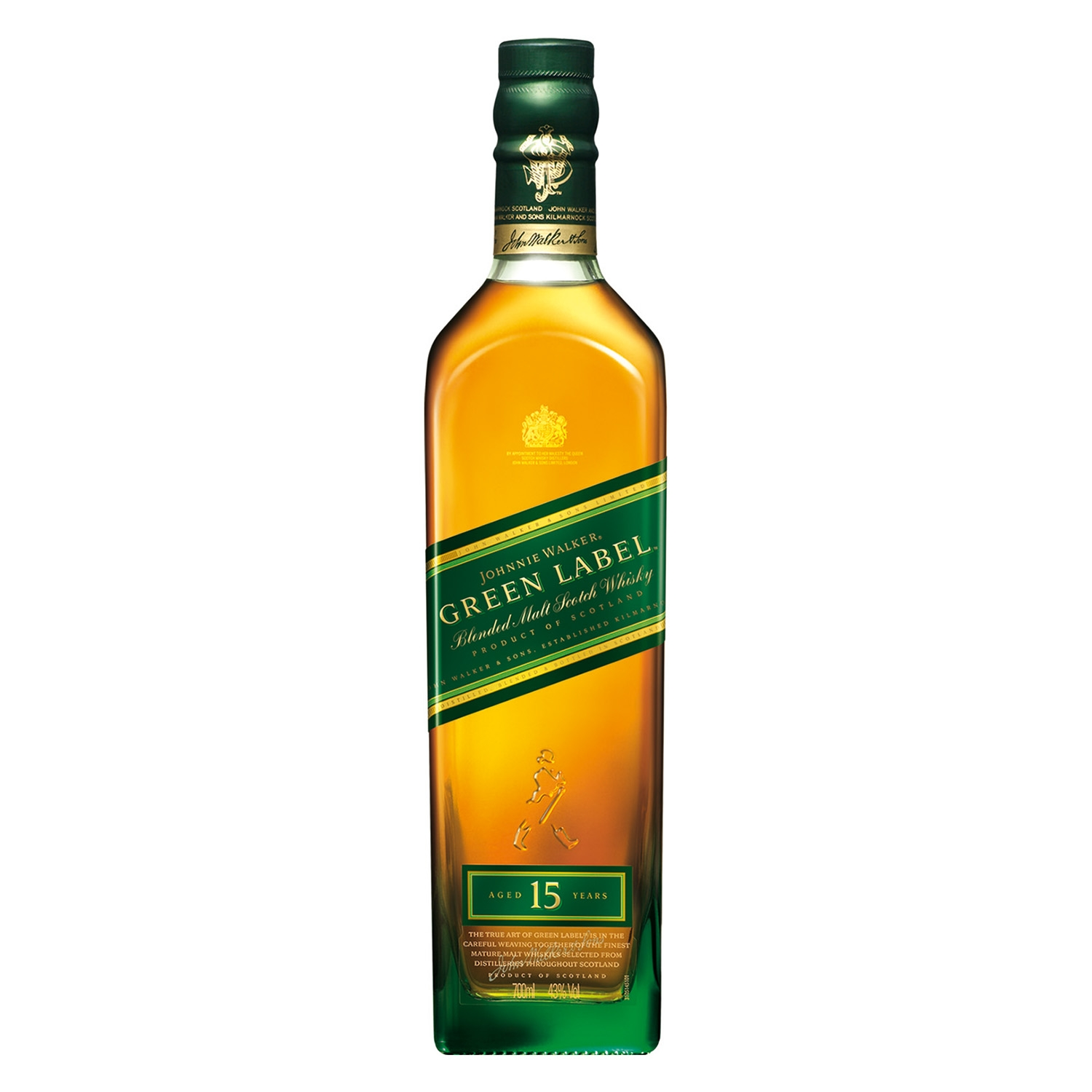 Whisky Johnnie Walker escocés 15 años 70 cl. -