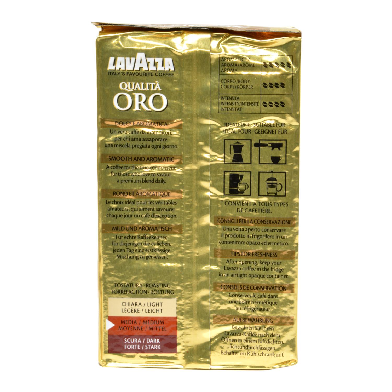 Café molido natural qualitá oro -