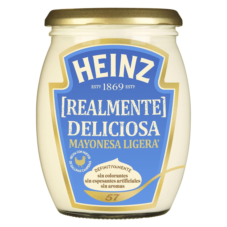 Mayonesa ligera Heinz tarro 450 ml.