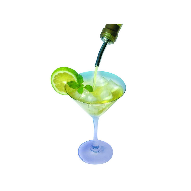 2 Vertedor  FACKELMANN Bar & Wine 10cm. - Negro -