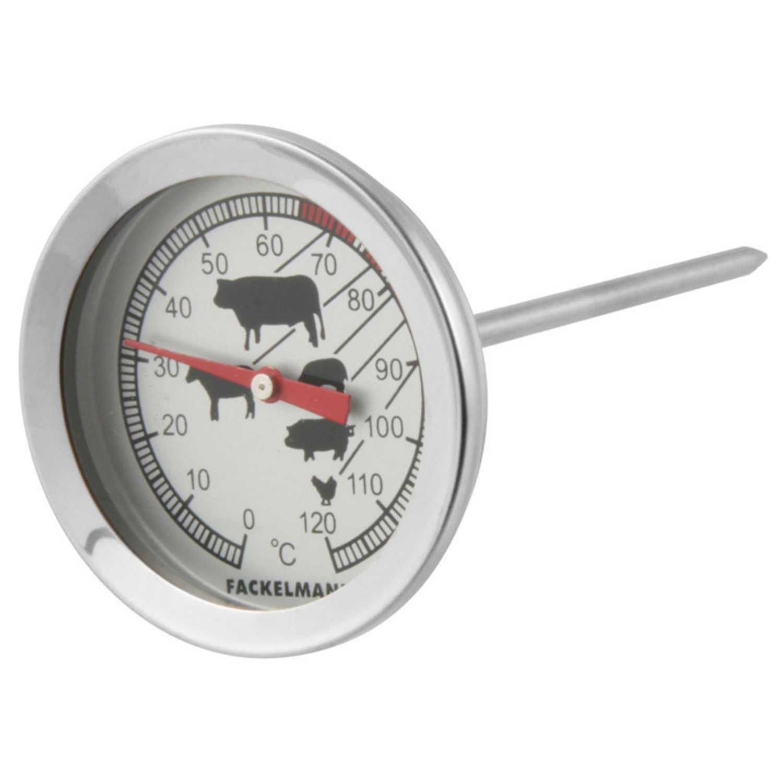 Termometros De Cocina | Termometro Cocina Food More 11 5cm Inox Fackelmann Carrefour