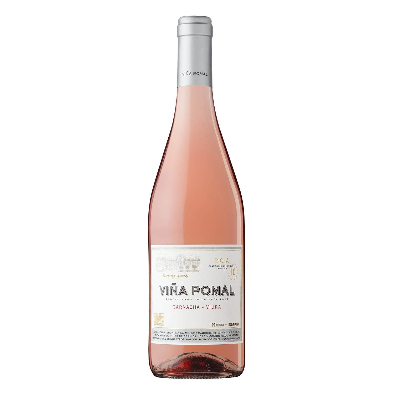 Vino D.O. Rioja rosado garnacha-viura Viña Pomal 75 cl.