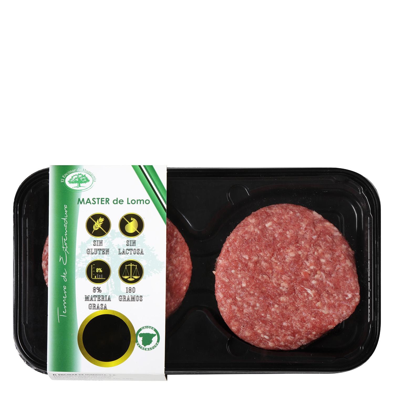 Hamburguesa de Vacuno Burguer Meat Master Lomo Extremadura El Encinar Humienta 360 g - 2