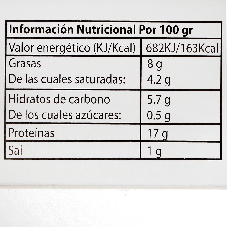 Hamburguesa de Vacuno Burguer Meat Master Lomo Extremadura El Encinar Humienta 360 g - 4