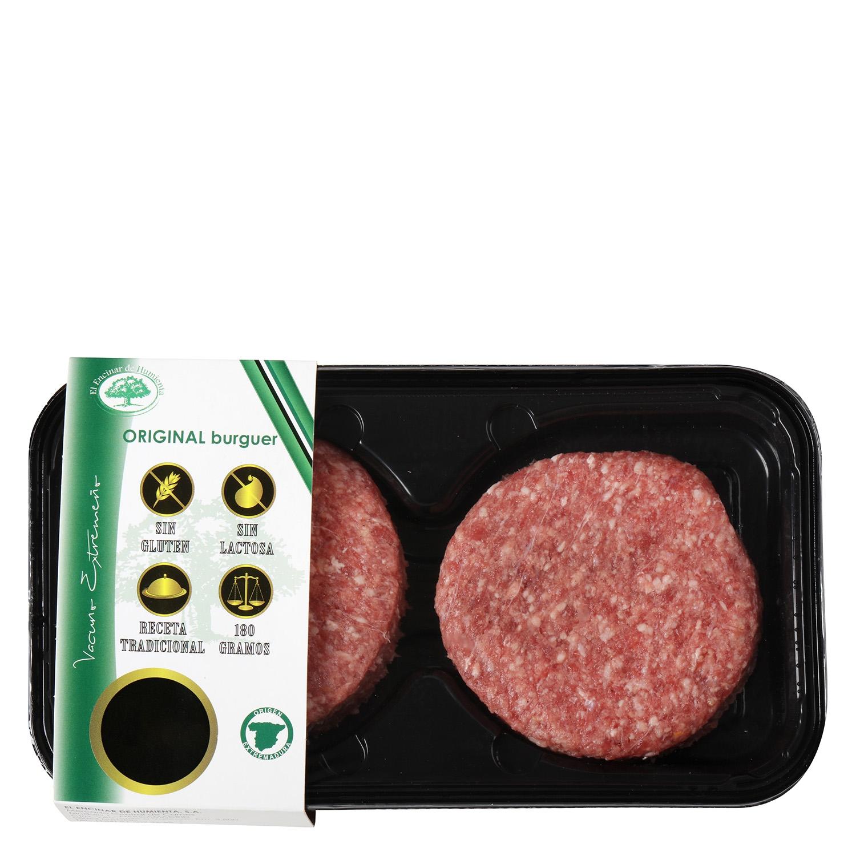 Hamburguesa de Vacuno Burguer Meat Original Extremadura El Encinar Humienta 360 g - 2