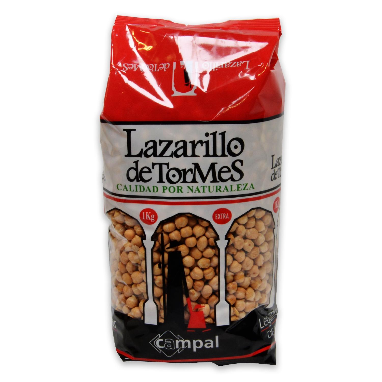 Garbanzo Lazarillo de Tormes categoría extra 1 kg.