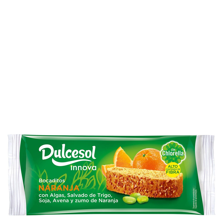 Bocaditos sabor naranja Innova DulceSol 9 ud.