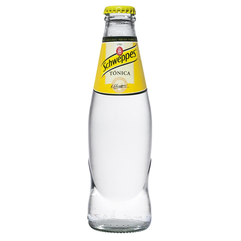 Tónica Schweppes Original botella 25 cl.