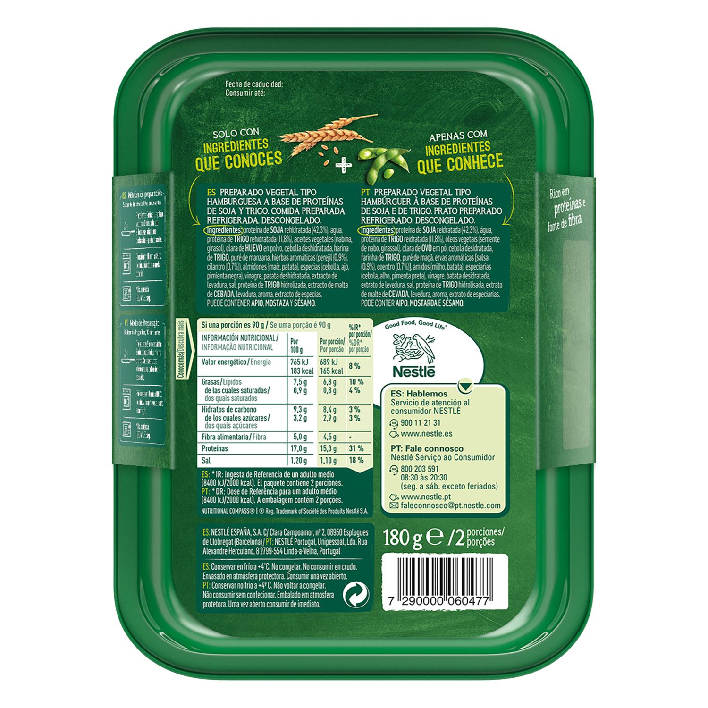Burguer deluxe vegetariano -