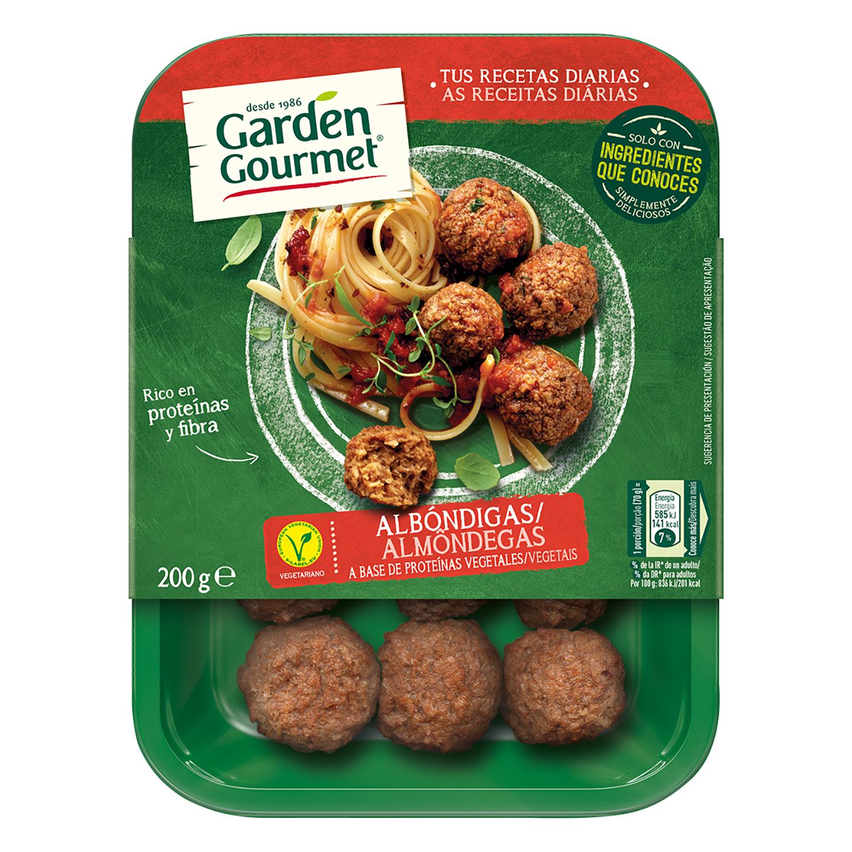 Albóndigas vegetarianas Garden Gourmet 200 g.