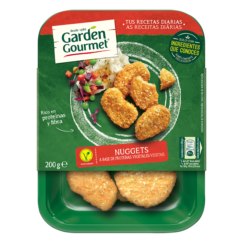 Nuggets Vegetarianos Garden Gourmet Carrefour Supermercado  # Muebles Veganos