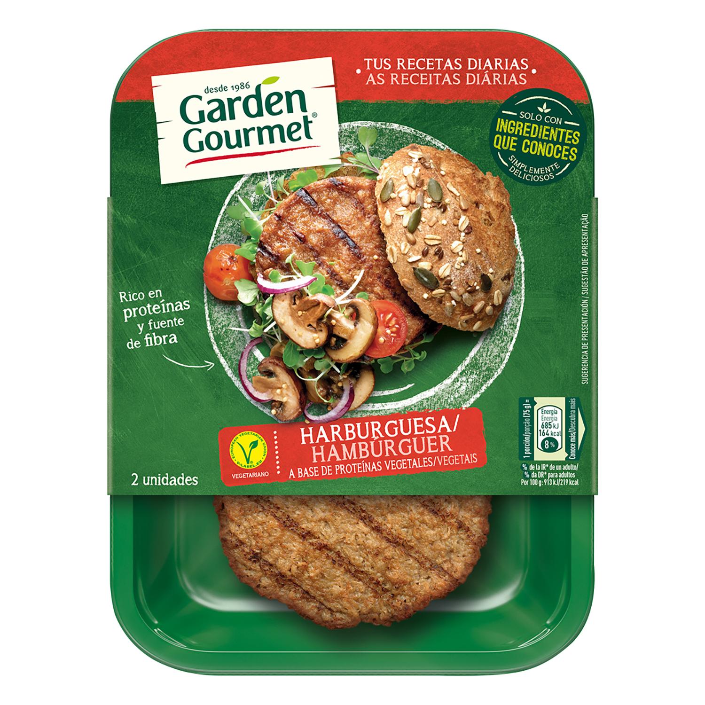 Hamburguesa vegetariana garden gourmet carrefour - Supermercados fuenlabrada ...