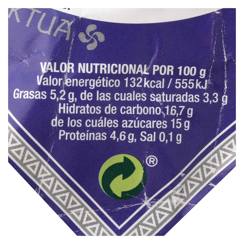 Yogur con leche de oveja con arándanos Doncel 140 g. - 2