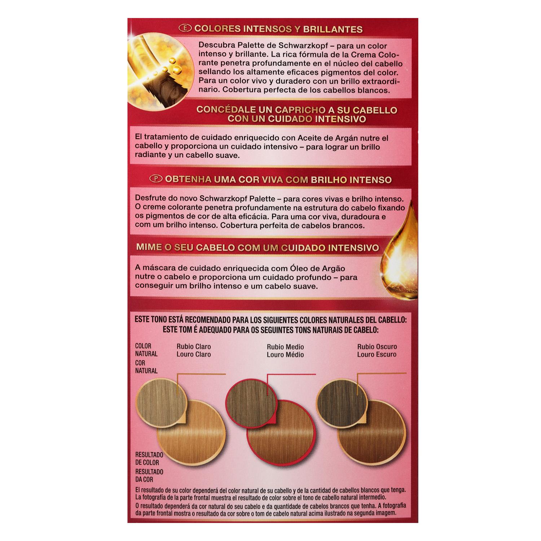 Tinte Intensive Creme Coloration 8.55 Rubio Dorado Miel -