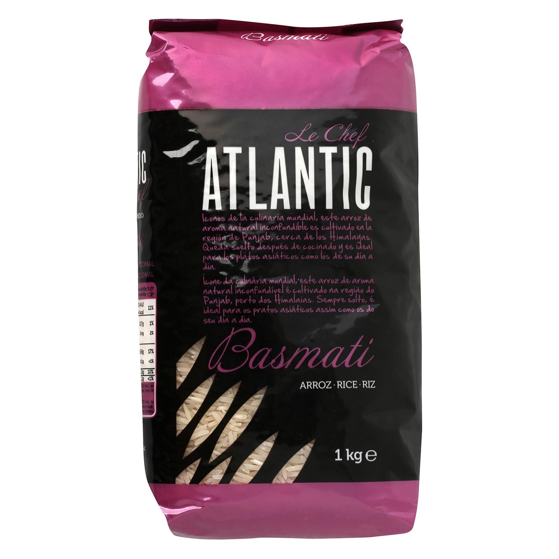 Arroz basmati Atlantic 1 kg.