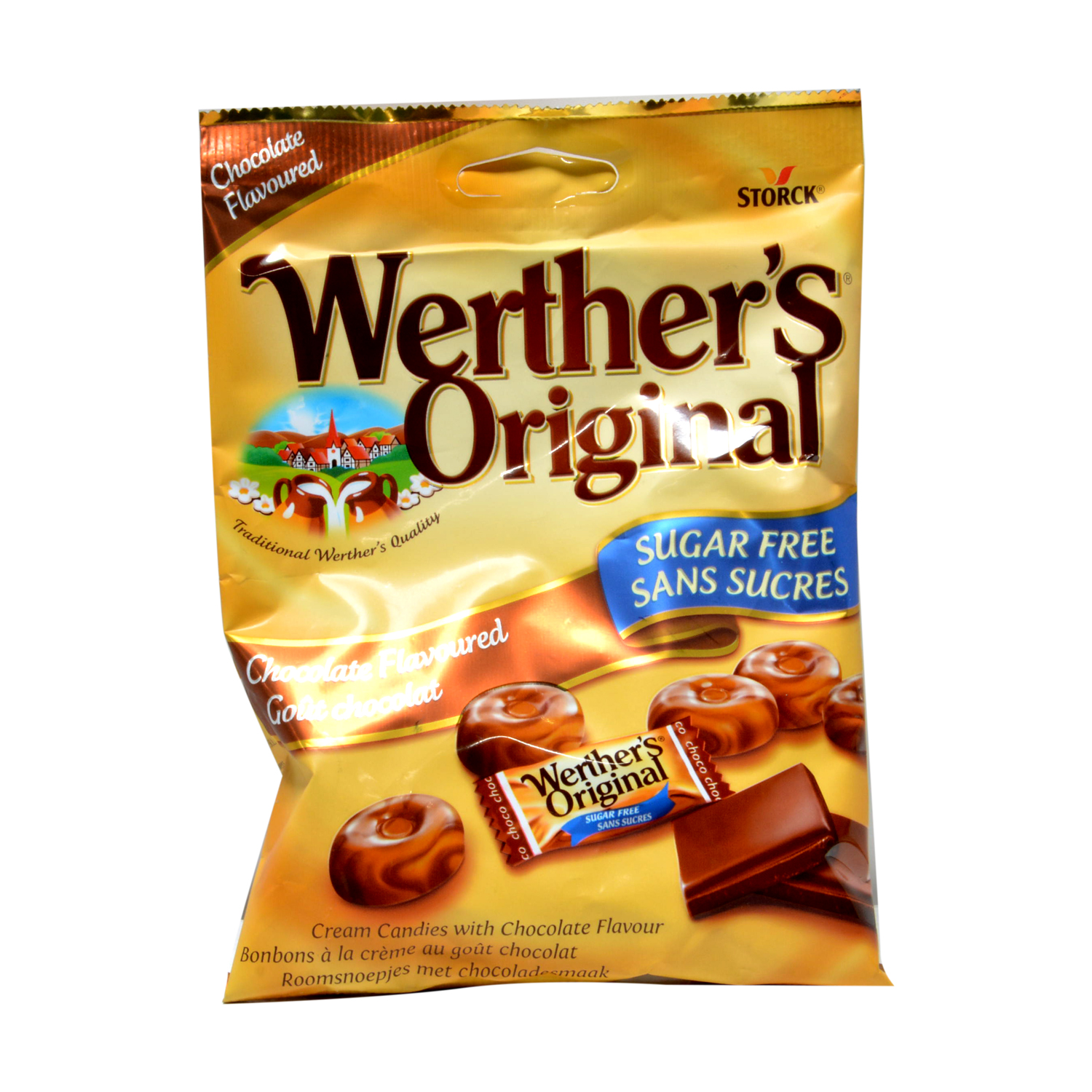 Caramelos sabor chocoalte Wherther's Original 60 g.