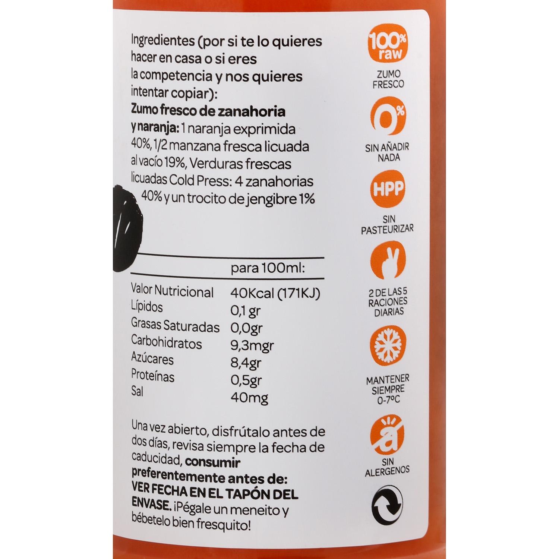 Zumo vegetal Romantics Be Strong botella 25 cl. - 3