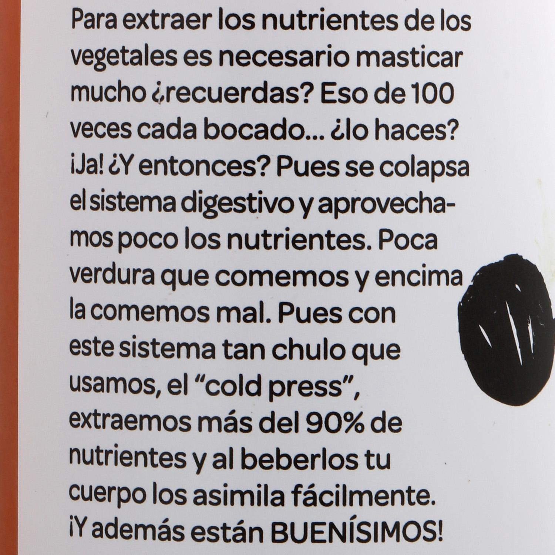 Zumo vegetal Romantics Be Strong botella 25 cl. - 4