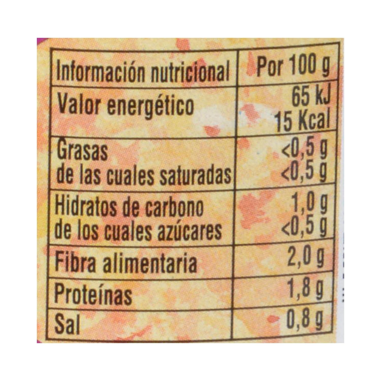 Espinacas al natural frasco Leyenda 440 g. - 2