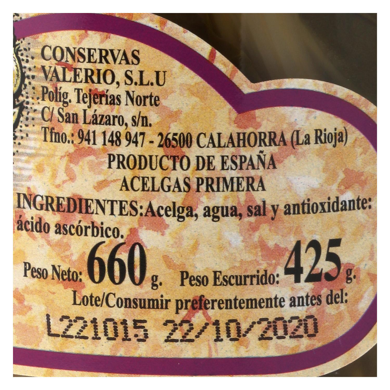 Acelgas primera Leyenda 425 g. - 2
