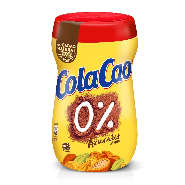 Cacao solubkle 0% azúcares añadidos Cola Cao 700 g.