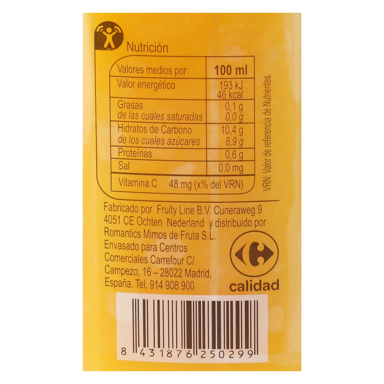 Zumo de naranja Carrefour botella 25 cl. - 2