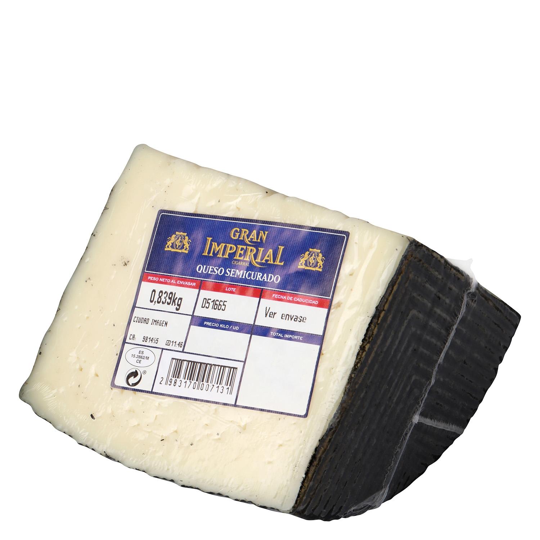 Queso semicurado mezcla Gran Imperial cuña 1/4, 750 g aprox - 2