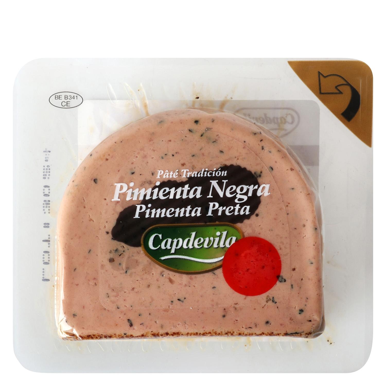 Paté a la pimienta negra Capdevila 100 g