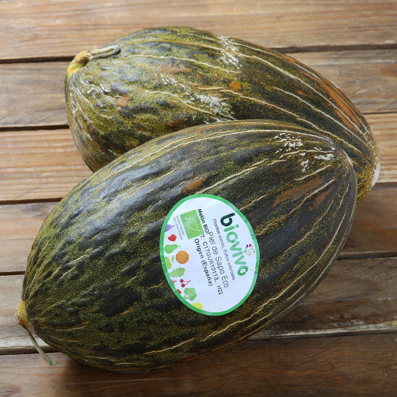 Melón Verde ecológico Carrefour 1,5 Kg aprox
