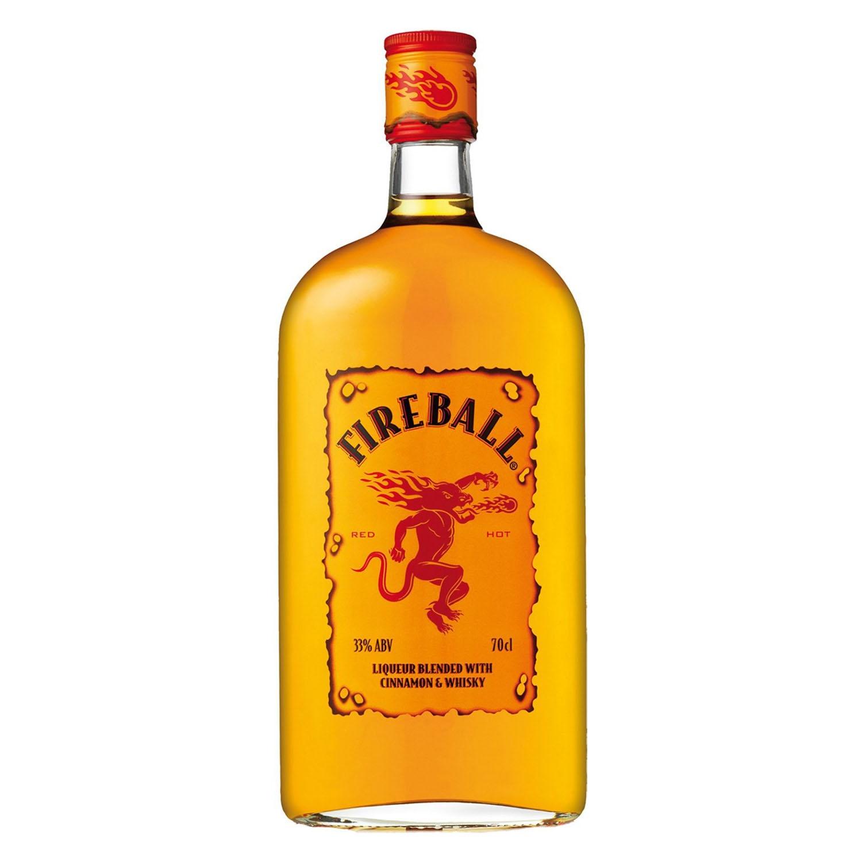 Whisky Fireball con canela 70 cl.