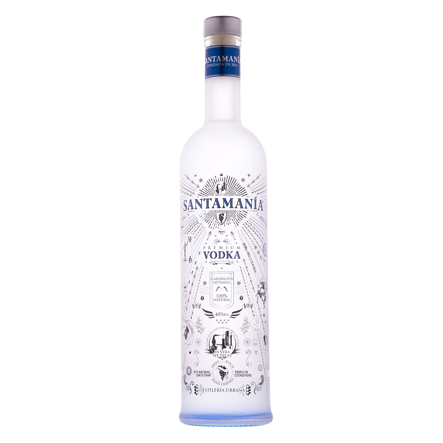 Vodka Santamanía premium 70 cl.