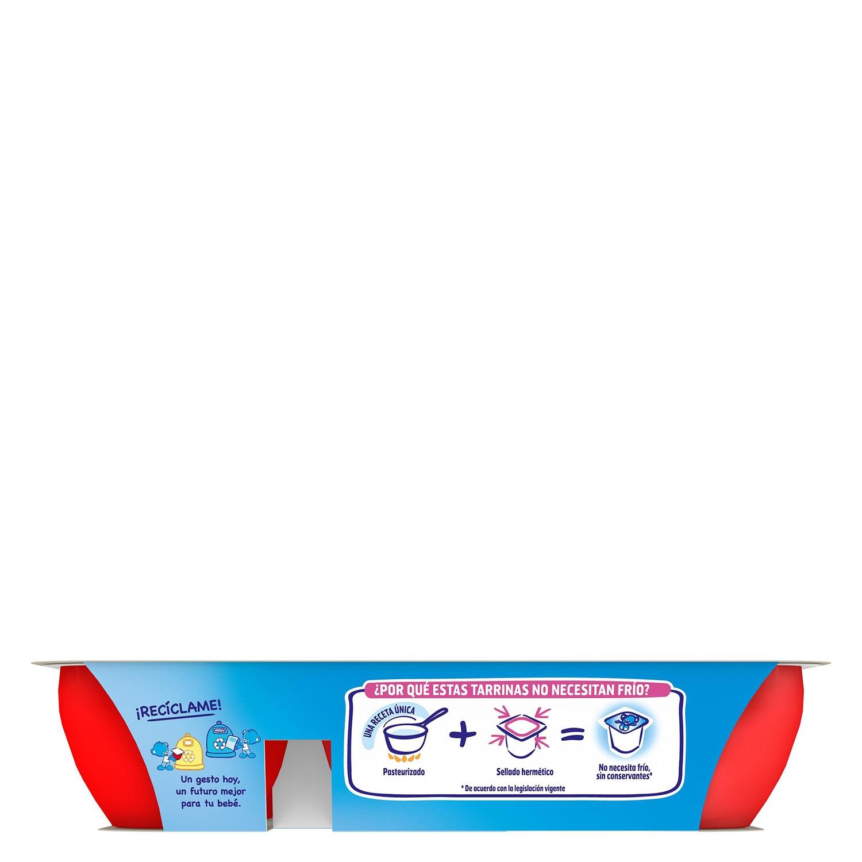 Postre lácteo de fresa y frambuesa desde 8 meses Nestlé Yogolino sin gluten pack de 6 unidades de 60 g. - 3