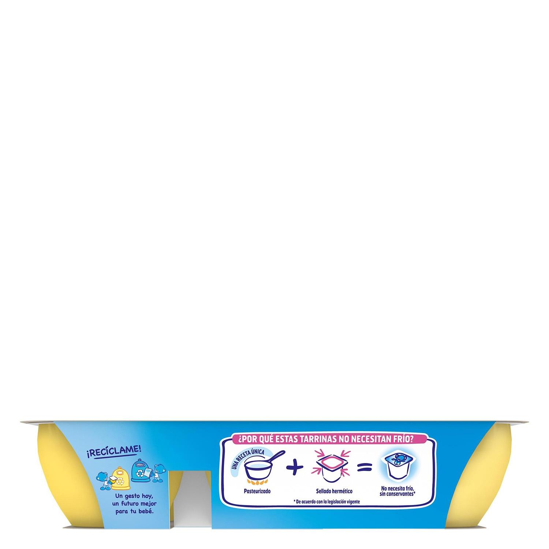 Postre de plátano y melocotón - 3