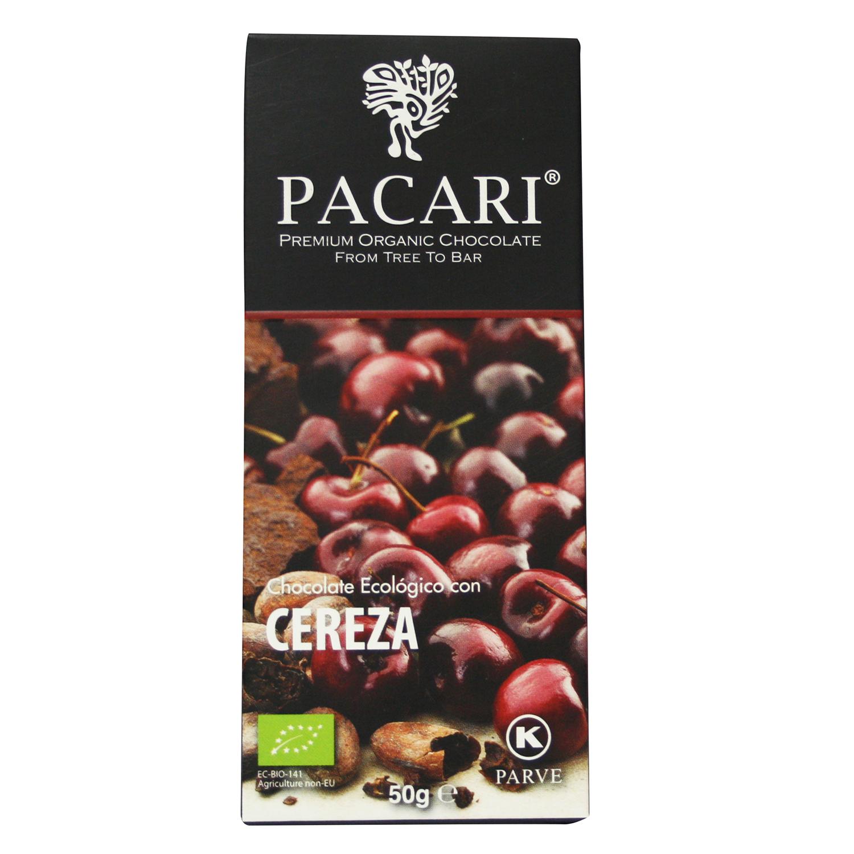 Chocolate con cereza ecológico