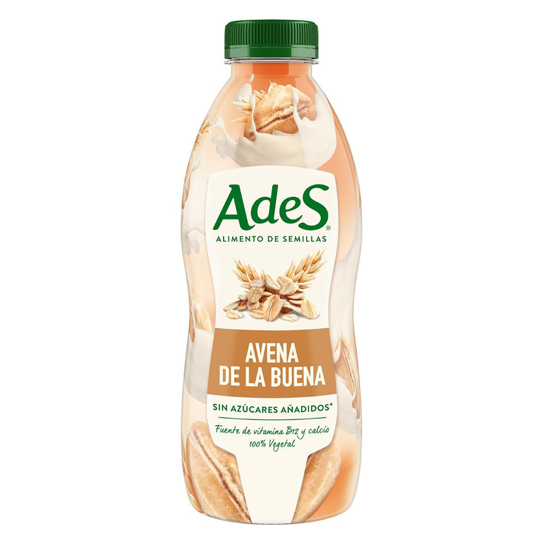 Bebida de avena AdeS sin azúcar botella 800 ml.