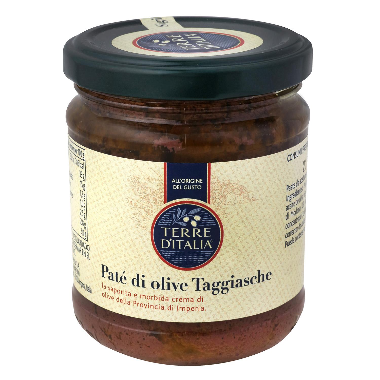 Paté de olive Taggiasche Terre d'Italia 180 g.