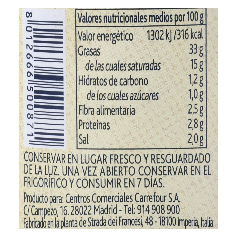 Paté de olive Taggiasche Terre d'Italia 180 g. -