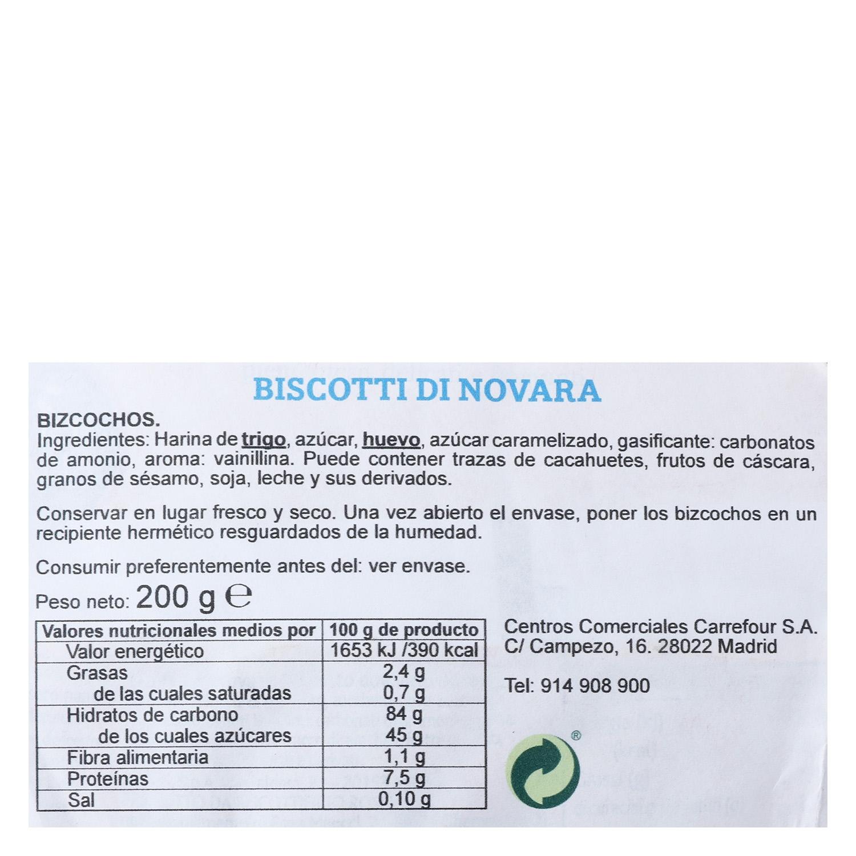 Biscotti di Novara  -